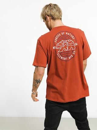 T-shirt Element Roam (etruscan red)