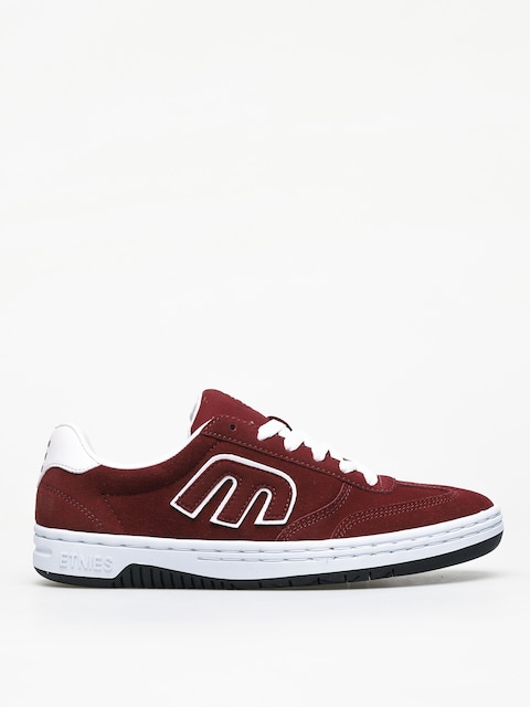 Buty Etnies Lo Cut (burgundy/white)