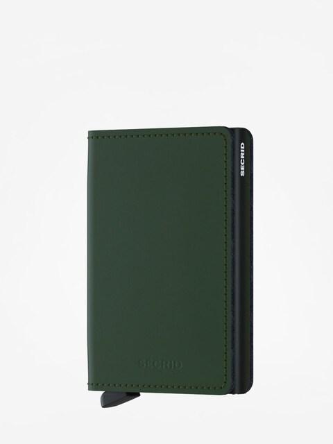 Portfel Secrid Slimwallet Matte (green/black)