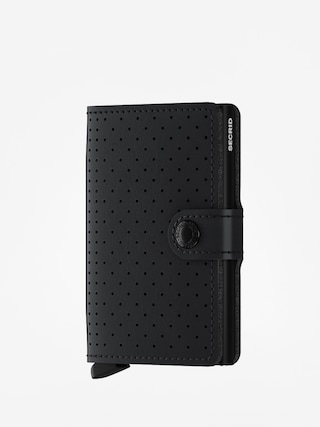 Portfel Secrid Miniwallet Perforated (black)