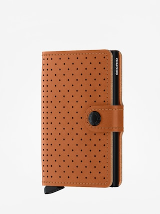 Portfel Secrid Miniwallet Perforated (cognac)