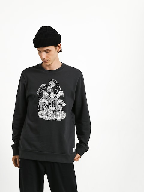 Bluza Element By Hand Crew (off black)