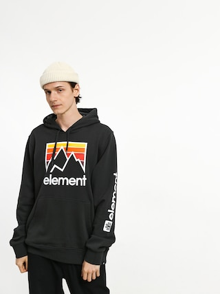 Bluza z kapturem Element Joint HD (off black)