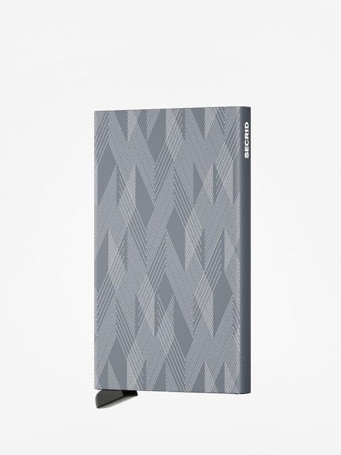 Portfel Secrid Cardprotector Laser Zigzag (titanium)