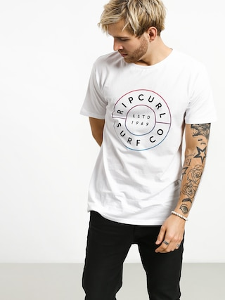 T-shirt Rip Curl Neon Donut (optical white)