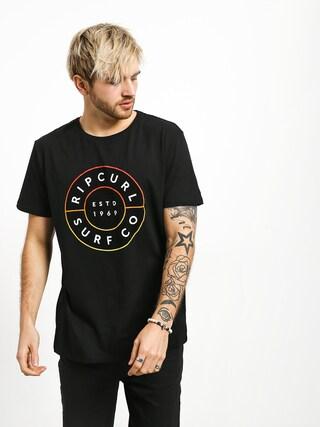 T-shirt Rip Curl Neon Donut (black)