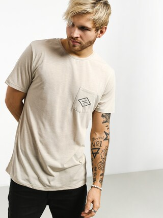 T-shirt Rip Curl Essential Surfers Pocket (bone marle)