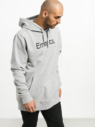 Bluza z kapturem Emerica Small Pure Logo HD (grey/heather)