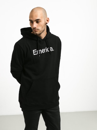Bluza z kapturem Emerica Small Pure Logo HD (black)