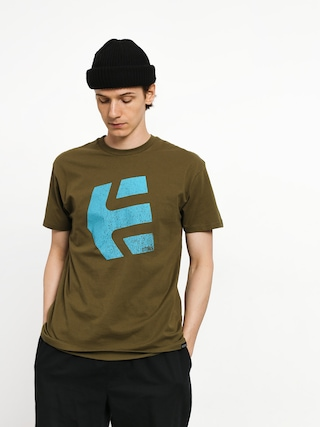 T-shirt Etnies Logomania (military)