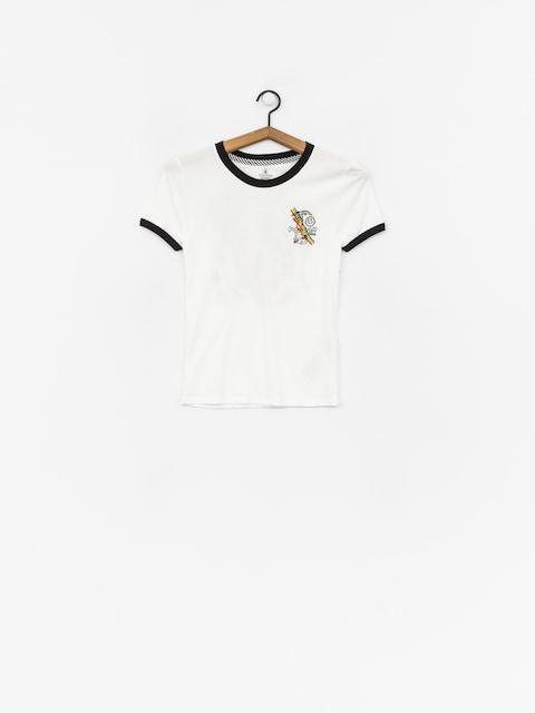 T-shirt Volcom Go Faster Ringer Wmn