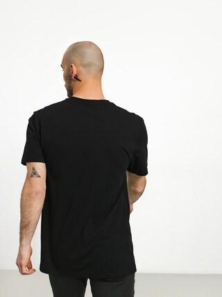 T-shirt Volcom Peace Scissors Ltw (blk)