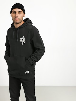 Bluza z kapturem Element Crew HD (off black)