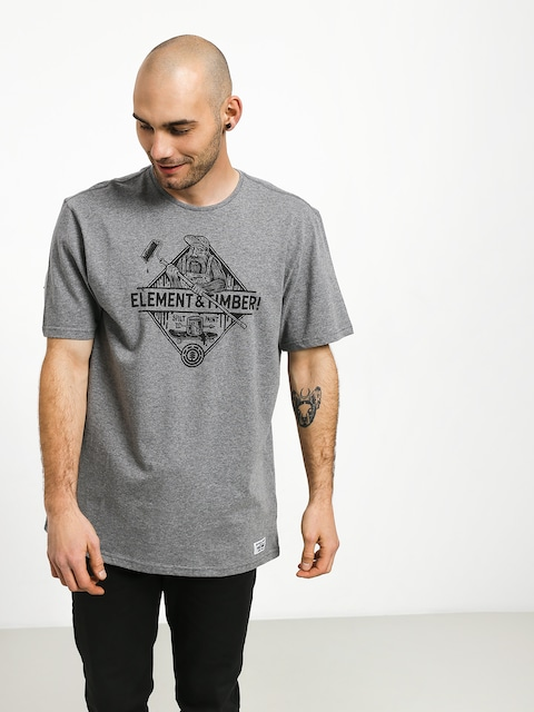T-shirt Element Rolling (grey heather)