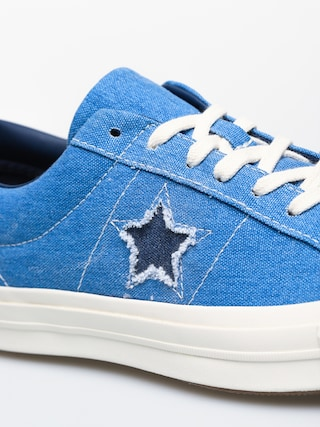 Buty Converse One Star Ox (totally blue/navy/egret)