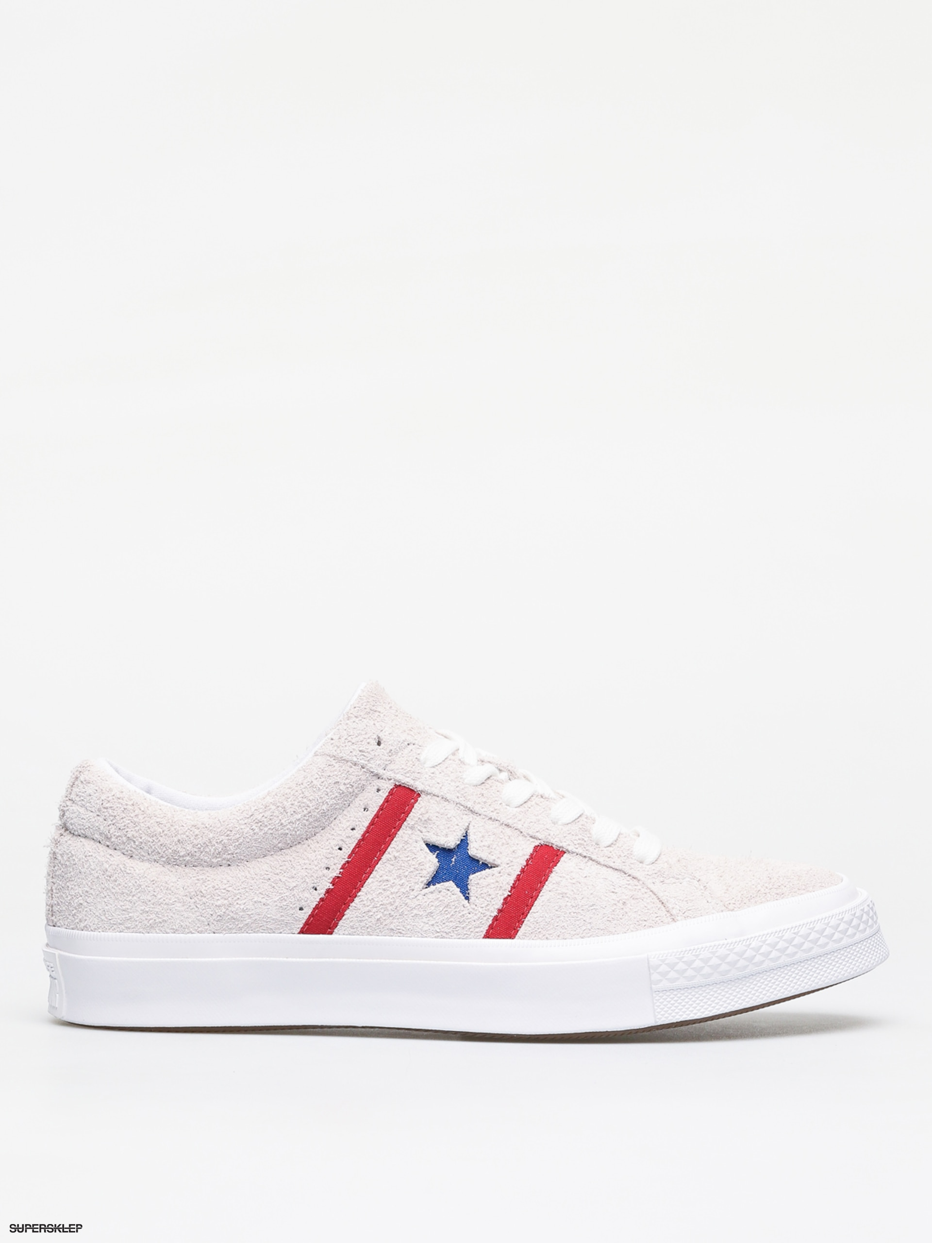 6e357f62307e4 Buty Converse One Star Academy Ox (white/enamel red/blue)
