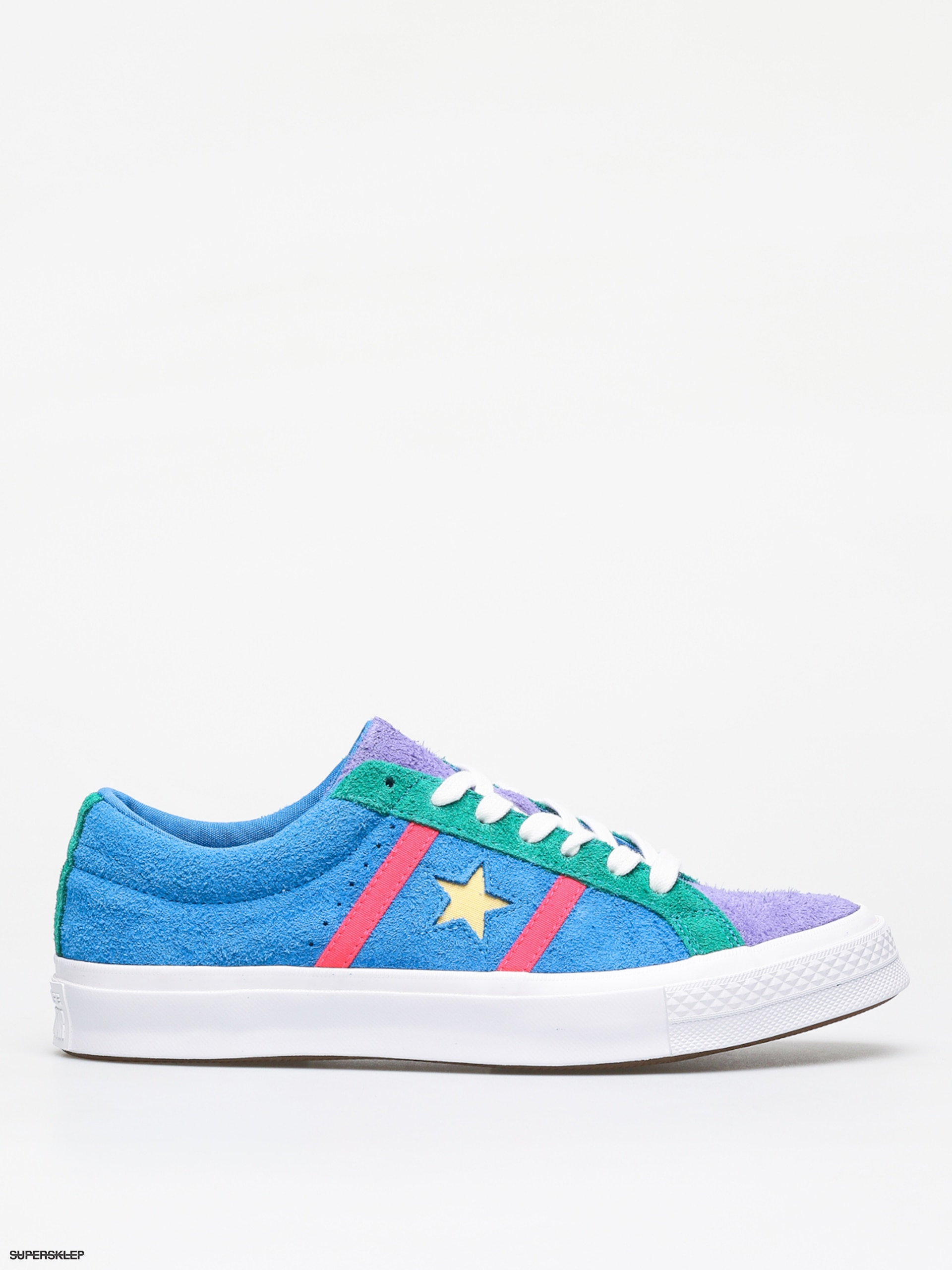 Buty Converse One Star Academy Ox (totally blueracer pinkwhite)