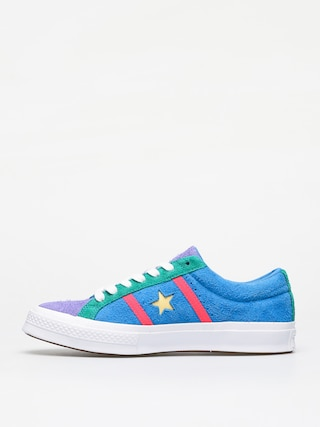 Buty Converse One Star Academy Ox (totally blue/racer pink/white)