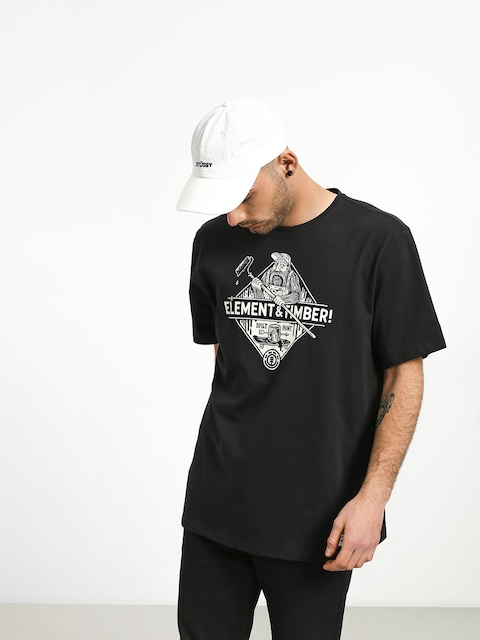 T-shirt Element Rolling (off black)