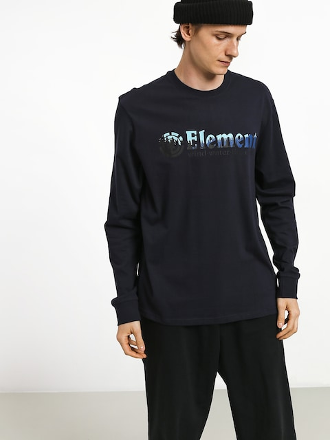 Longsleeve Element Glimpse Horizontal L (eclipse navy)