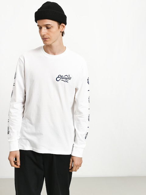 Longsleeve Element Valley (optic white)