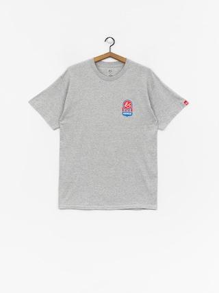 T-shirt Es Court Logo (grey/heather)