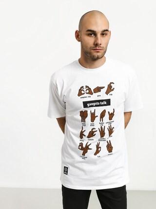 T-shirt MassDnm Gangsta Talk (white)