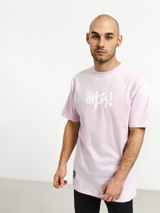 T-shirt MassDnm Signature Medium Logo (light pink)