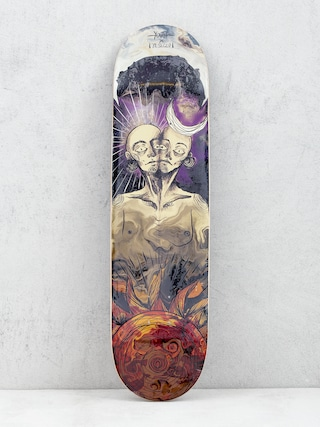 Deck Youth Skateboards Twins (purple/red)