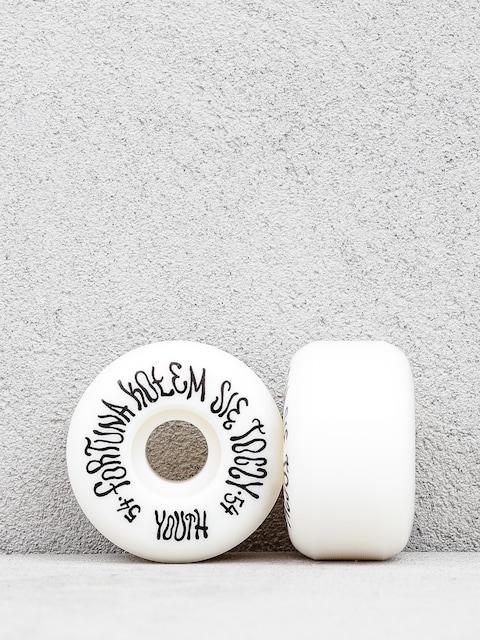 Kółka Youth Skateboards Fortuna (black/white)