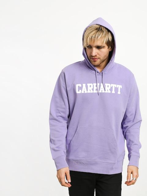 Bluza z kapturem Carhartt WIP College HD (soft lavender/white)