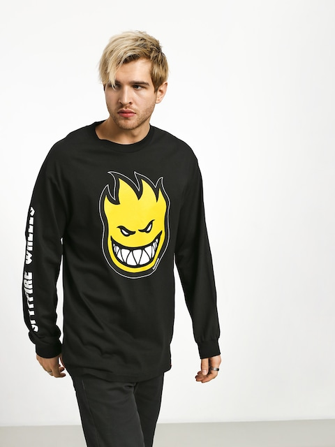 Longsleeve Spitfire Big Head Fill Hmbre (black/yellow)