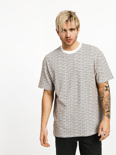 T-shirt Carhartt WIP Typo (typo print/wax/hamilton brown)