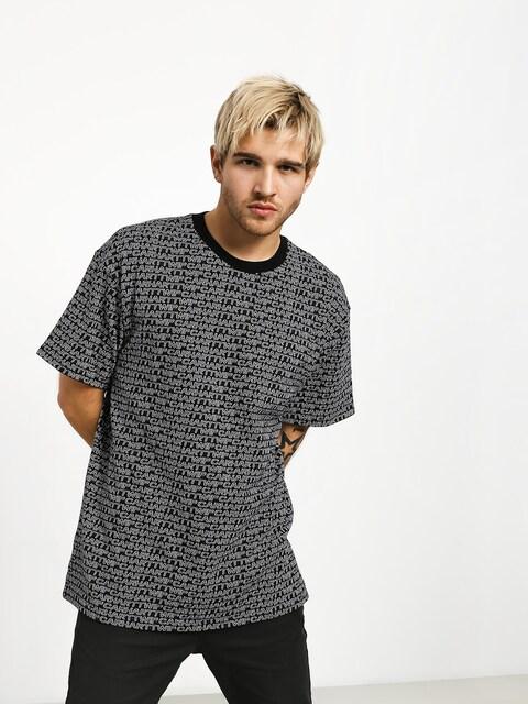 T-shirt Carhartt WIP Typo (typo print/black/white)