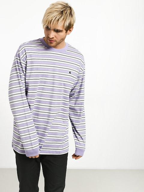 Longsleeve Carhartt WIP Huron (huron stripe/soft lavender/black)