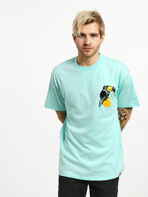T-shirt Carhartt WIP Nosebird (light yucca)