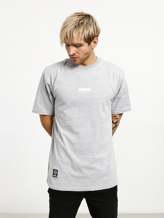 T-shirt MassDnm Classics Small Logo (light heather grey)