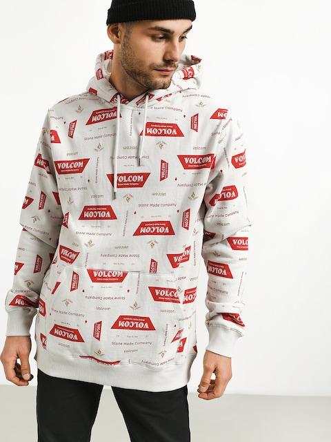Bluza z kapturem Volcom Garage Beers HD (wht)