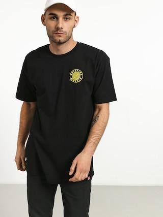 T-shirt Spitfire Og Circle Outline (black/yellow)