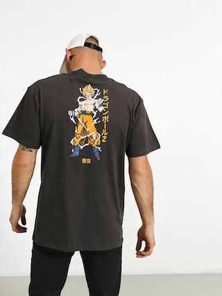 T-shirt Primitive Super Saiyan Goku (charcoal)