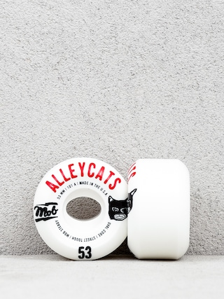 Kółka Mob Skateboards Alleycats (white/black/red)