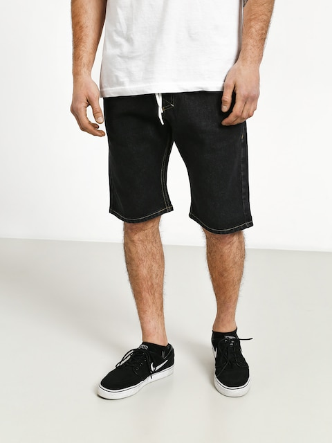 Szorty MassDnm Classics Straight Fit (black rinse)