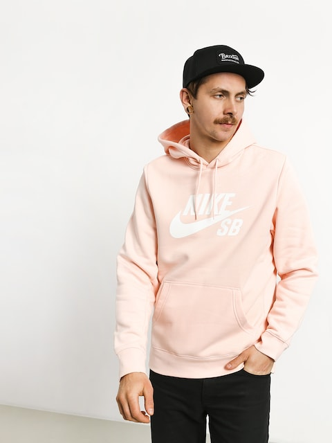 Bluza z kapturem Nike SB Sb Icon HD (washed coral/white)