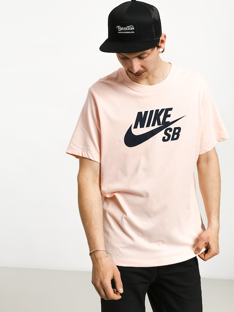 T-shirt Nike SB Sb Dri Fit (washed coral/obsidian)