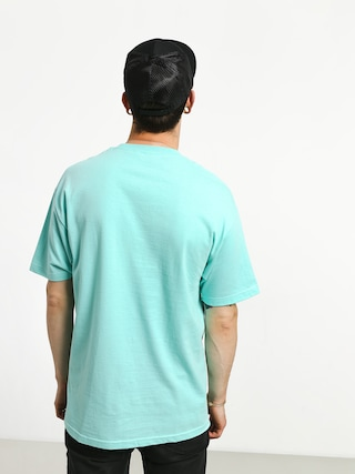 T-shirt Girl Skateboard Supply Script (celadon)