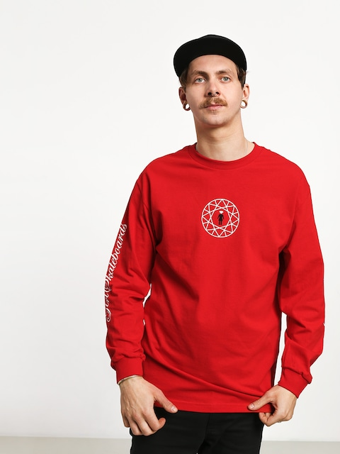 Longsleeve Girl Skateboard Simplicity (red)
