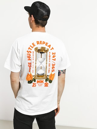 T-shirt DGK No Time (white)