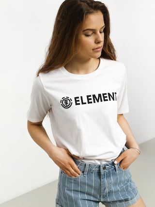 T-shirt Element Element Logo Cr Wmn (white)