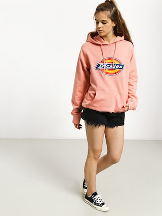 Bluza z kapturem Dickies Nevada HD Wmn (flamingo)