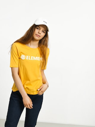 T-shirt Element Element Logo Cr Wmn (banana)